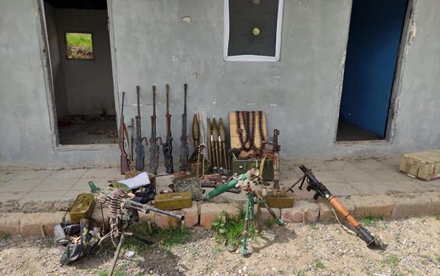 Xocavənddə silah-sursat aşkar edilib