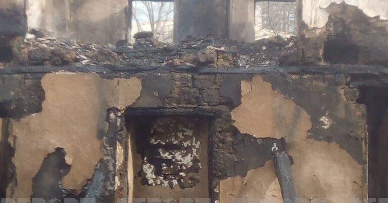 Qubada 3 gün əvvəl ölən şəxsin evi də yandı – VİDEO